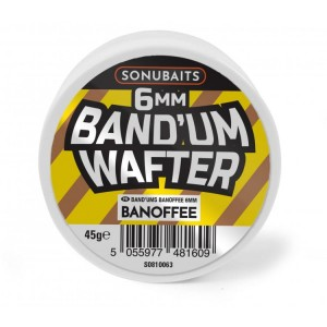 Dumbells BANOFFE 6mm / 45g - Band'Um Wafters SONUBAITS