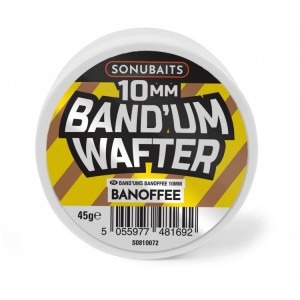 Dumbells BANOFFE 10mm / 45g - Band'Um Wafters SONUBAITS