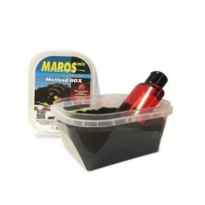 Pellet TRUSKAWKA - Method Box + liquid MAROS