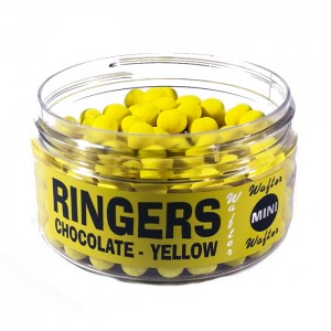 Dumbells Chocolate Yellow Wafters MINI Ringers