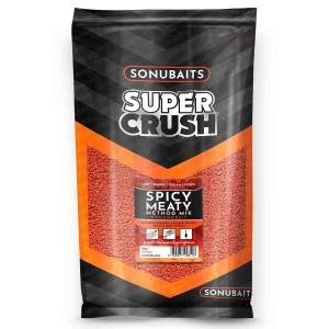 Zanęta Supercrush SPICY MEATY Method Mix 2kg SONUBAITS