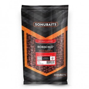 Pellet ROBIN RED 8mm (z dziurką) - Feed Pellets 900g SONUBAITS