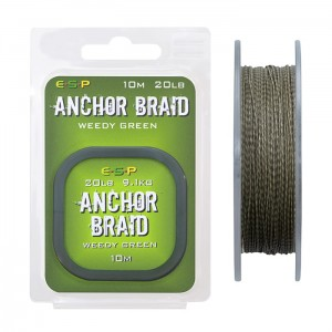 Plecionka Anchor Braid 10m - 20lb Camo Green ESP