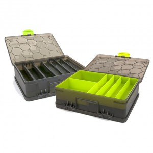 Organizer dwustronny Double Sided Feeder and Tackle Box MATRIX