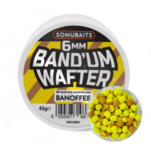 Dumbells BANOFFEE 6mm / 45g - Band'Um Wafters SONUBAITS