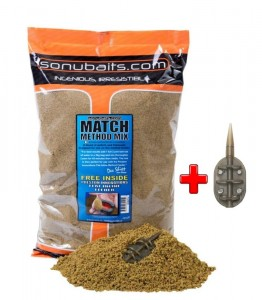 Match Method Mix 2kg Zanęta SONUBAITS  + GRATIS
