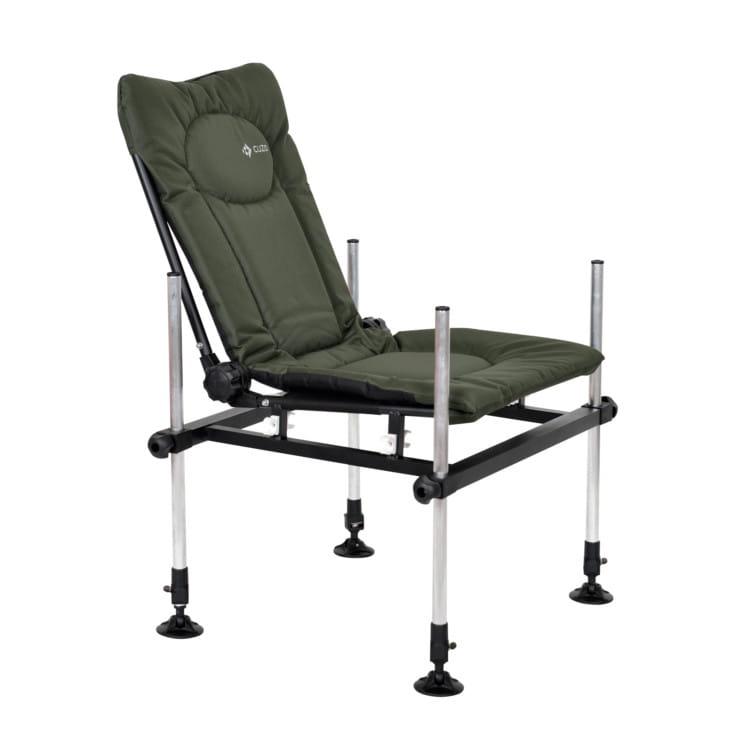 Cuzo F3 Fotel Krzesło Method Feeder Elektrostatyk Zielone